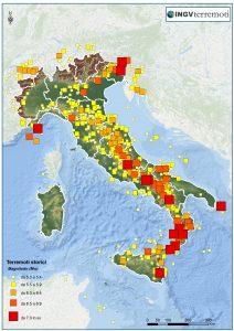 Terremoti nel sud Italia